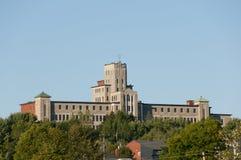 Università di Moncton - Edmundston - Nuovo Brunswick Fotografia Stock Libera da Diritti