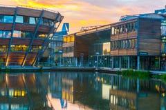 Università di Nottingham in Inghilterra Fotografia Stock