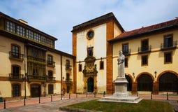 Università di Oviedo Fotografia Stock Libera da Diritti