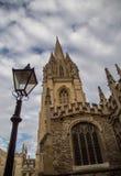 Università di Oxford Immagine Stock