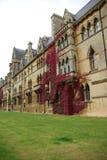Università di Oxford dell'istituto universitario della chiesa del Christ Fotografia Stock Libera da Diritti