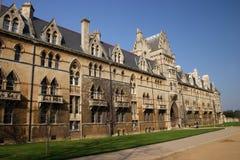 Università di Oxford dell'istituto universitario della chiesa del Christ Fotografia Stock