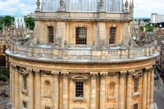 Università di Oxford, biblioteca Fotografia Stock