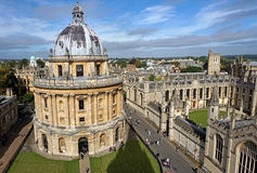 Università di Oxford, macchina fotografica di Radcliffe Immagine Stock Libera da Diritti