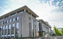 Università di Pechino che costruisce 3 Immagini Stock