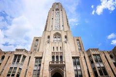Università di Pittsburgh Fotografia Stock Libera da Diritti