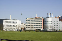 Università di Portsmouth, Hampshire Fotografia Stock