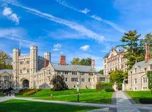 Università di Princeton Fotografie Stock Libere da Diritti