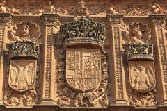 Università di Salamanca Immagini Stock Libere da Diritti