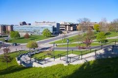 Università di Syracuse, Siracusa, New York, U.S.A. immagini stock