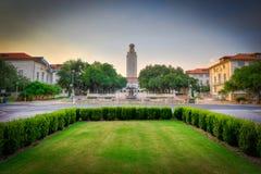 Università di Texas Tower, Austin, il Texas Fotografie Stock Libere da Diritti