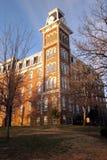 Università di vecchia conduttura dell'Arkansas Fotografia Stock Libera da Diritti
