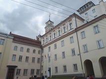 Università di Vilnius fotografie stock libere da diritti