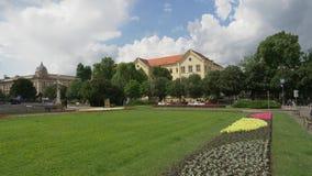 Università di Zagabria stock footage