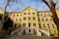 Università di Zagabria fotografie stock
