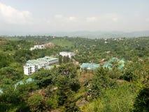 Università in mezzo delle foreste Immagine Stock Libera da Diritti