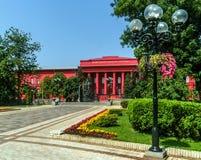 Università rossa Fotografie Stock