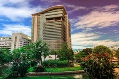 Università Tailandia costosa di Rangsit Fotografie Stock