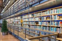 Università tecnica Delft delle biblioteche nei Paesi Bassi Immagini Stock