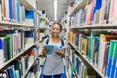 Universitária afro-americano foto de stock royalty free