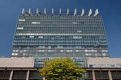 Universitätsklinikum Köln - água de Colônia da clínica da universidade imagens de stock royalty free