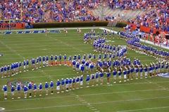 Universität der Florida-Blaskapelle Lizenzfreie Stockfotos