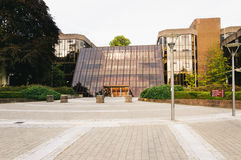 Universität des Limericks, Irland Hauptgebäude der neuen Schule nahe Bangkok, Thailand Lizenzfreie Stockfotos