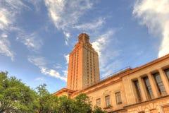 Universität des Texas-Kontrollturms Stockfoto