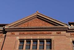 Universität Harvard trennen Hall Lizenzfreies Stockbild