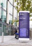 Universität Leeds Beckett Stockbild