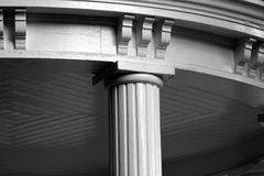 Universität Nord-Carolina Well-Hauses lizenzfreie stockbilder