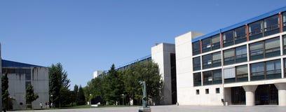 Universität veröffentlicht von Pamplona, Navarra, Spanien. Lizenzfreies Stockbild