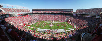 Universität von Alabama Gameday Lizenzfreies Stockbild