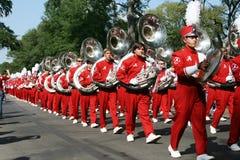 Universität von Alabama Million Dollar-Band Stockfotos
