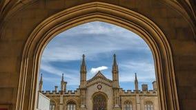 Universität von Cambridges-Stadt lizenzfreie stockfotos