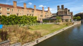 Universität von Cambridges-Stadt stockfotografie