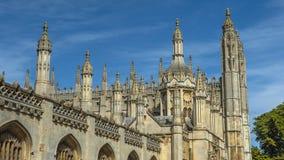 Universität von Cambridges-Stadt stockbild