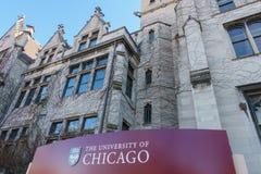 Universität von Chicago Stockfotos