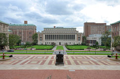 Universität von Columbia in New York City Lizenzfreies Stockfoto