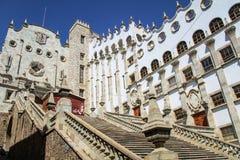 Universität von guanajuato, Mexiko Lizenzfreie Stockfotografie