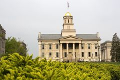 Universität von Iowa Stockfotos