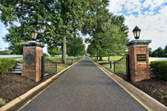 Universität von Maryland Lizenzfreies Stockfoto