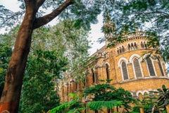 Universität von Mumbai-Fort-Campus in Mumbai, Indien lizenzfreies stockfoto