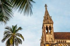 Universität von Mumbai-Fort-Campus in Mumbai, Indien stockbild