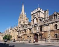 Universität von Oxford Stockbilder