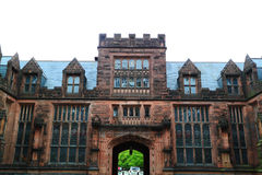 Universität von Princetons-Campus-Gebäude Stockbilder