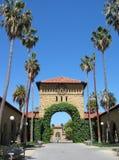 Universität von Stanfords-Campus lizenzfreies stockfoto