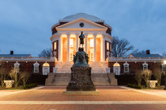 Universität von Virginia - Charlottesville, Virginia lizenzfreie stockfotografie