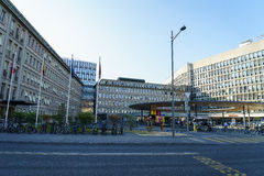 Universitätskrankenhaus von Genf Stockfotos