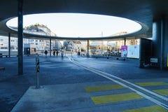 Universitätskrankenhaus von Genf Stockfotografie